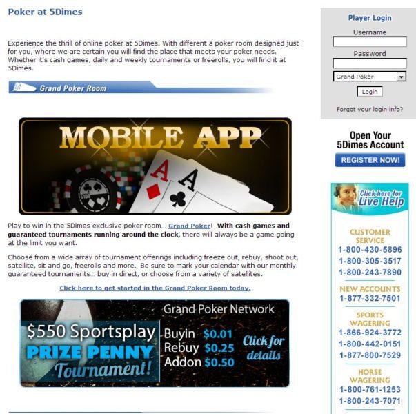 5dimes eu Review - Bitcoin Online Poker